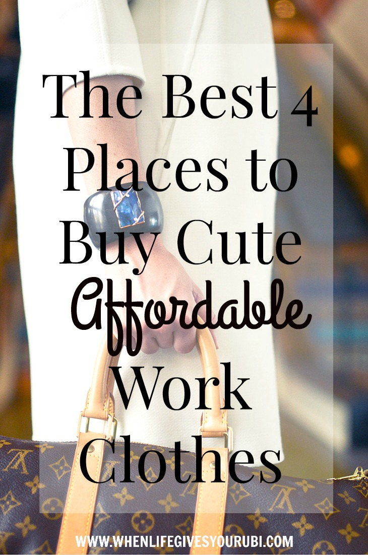 Cheap places to buy cute clothes online