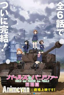 Girls und Panzer das Finale: Part I -  2017 Poster