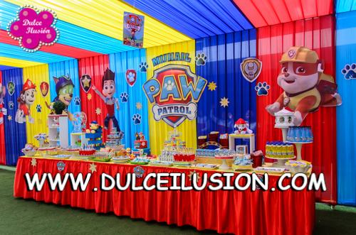 Dulce ilusi n shows infantiles y decoraci n de fiestas - Decoracion de la patrulla canina ...