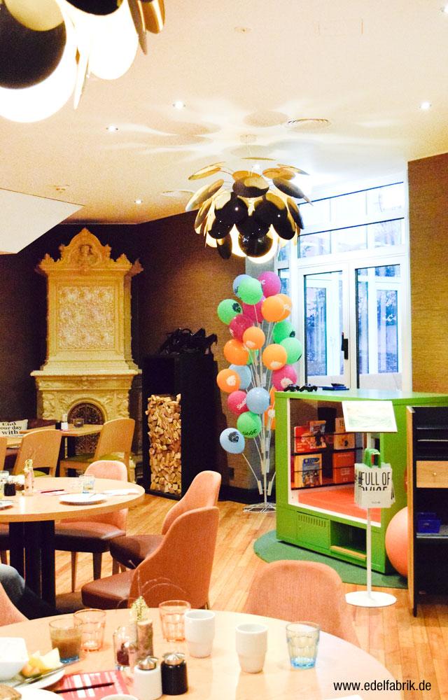 Alter Kamin im Scandic Hotel Berlin Kurfürstendamm