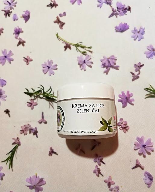 krema za lice, facial cream, moisturizer, prirodno, natural, zeleni čaj
