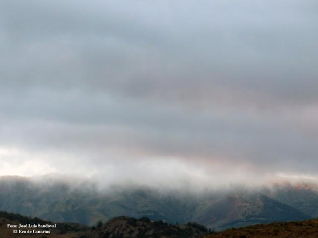Si nieva en Gran Canaria no se podrá subir a la cumbre