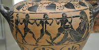 Ulises cegando a Polífemo