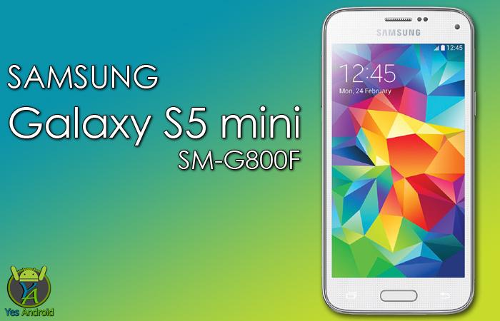 G800FXXU1CQA1 | Galaxy S5 mini SM-G800F