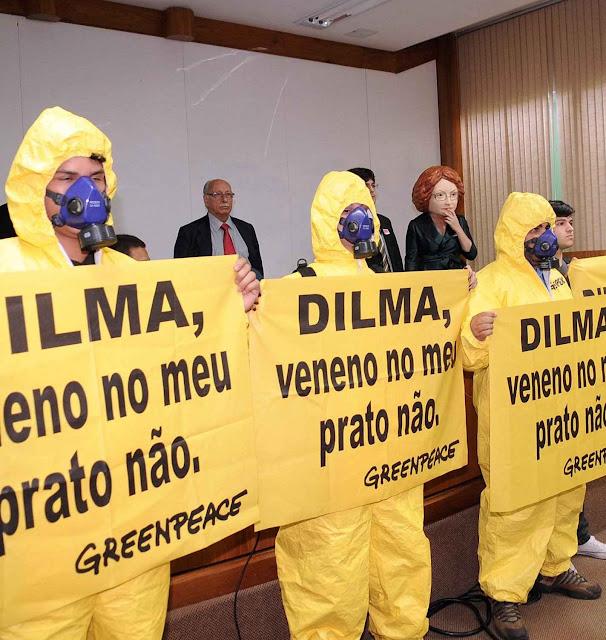 Demagogia da Greenpeace contra os OGM no Ministério da Ciência e Tecnologia. Governantes de esquerda são a última esperança do fanatismo anti-OGM