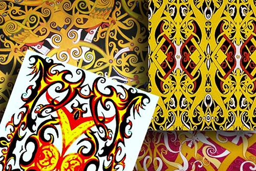 Berburu Batik Khas Dayak Di Pontianak