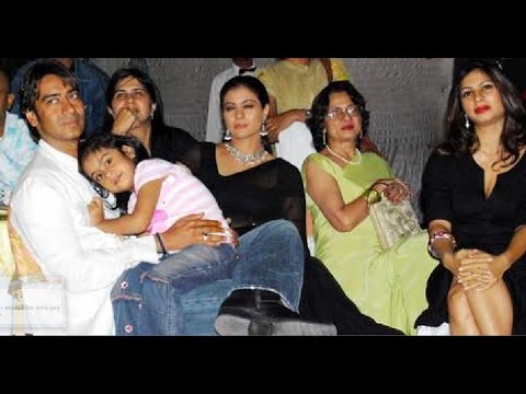Kajol Devgan family