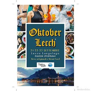 OktoberLecch street food fest 21-22-23 settembre Lecco