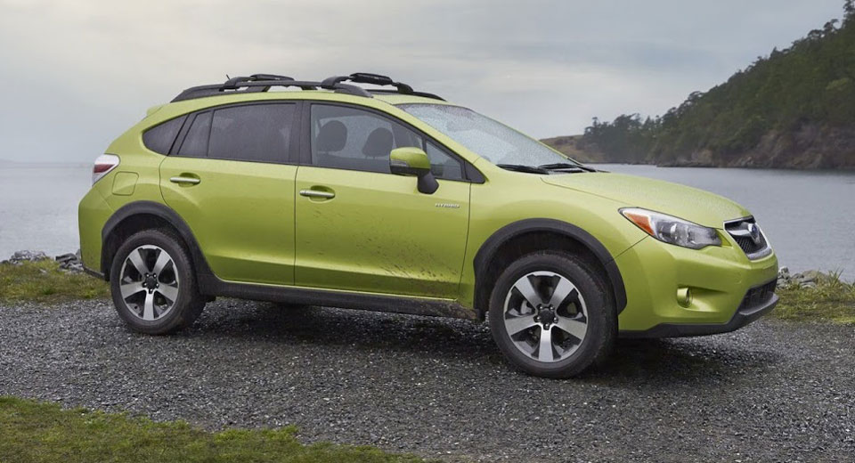 subaru axes xv crosstrek hybrid over poor sales. Black Bedroom Furniture Sets. Home Design Ideas
