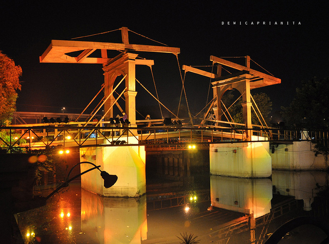 Jembatan Kota Intan Kota Tua Jakarta