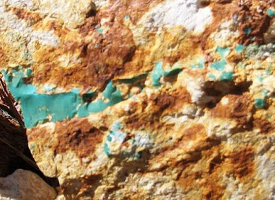 turquesa formacion veta mineral | foro de minerales
