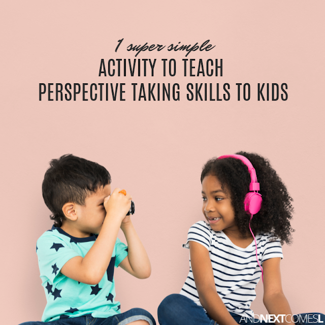 Teaching perspective taking skills - 1 super simple activity!