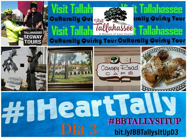 Tallahassee_Florida _#BBTallysItUp _#iHeartTally _LeMoyne_ Art _Segway_ Canopy Road Cafe
