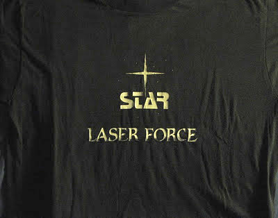 Picture of the elusive Star Laser Force T-shirt