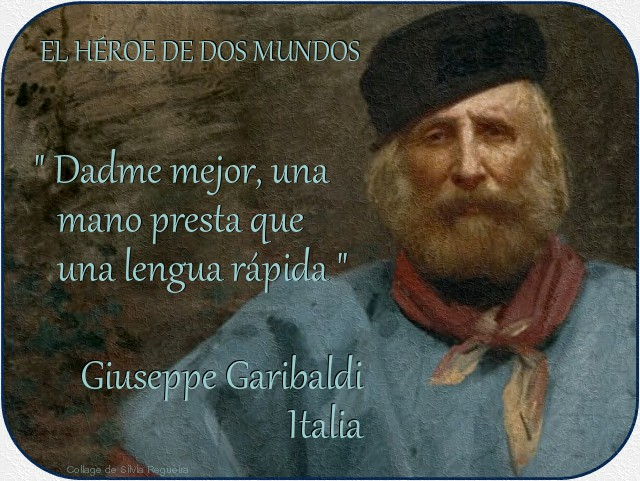 Hombres Celebres Giuseppe Garibaldi Italia