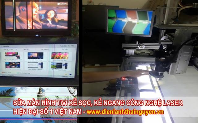 Sửa tivi bị lỗi Kẻ sọc Kẻ ngang công nghệ cao