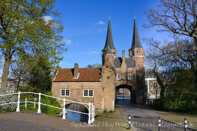 台夫特, Delft, 荷蘭, holland, netherlands, 東門Osterpoort,