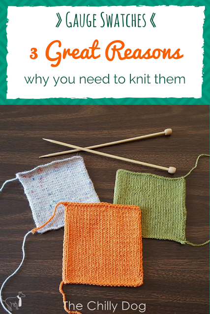 3 reasons why you should take check your gauge and knitting needle size before you start a knit project.