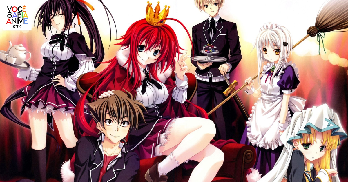 Novidades da nova temporada de High School DXD Hero