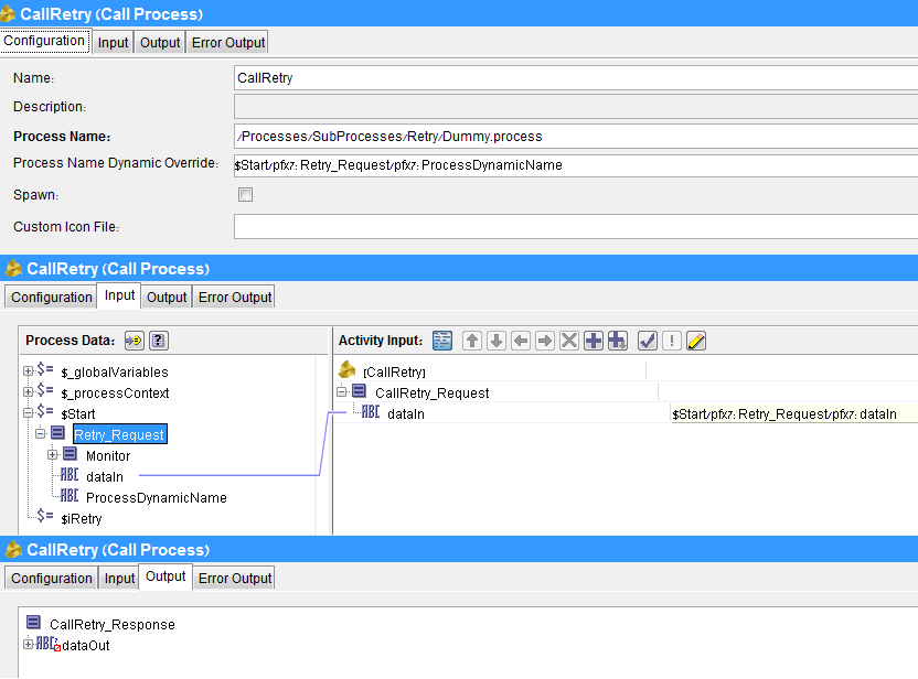 Ohad Avenshtein's Blog: Generic retry process with TIBCO BW 5