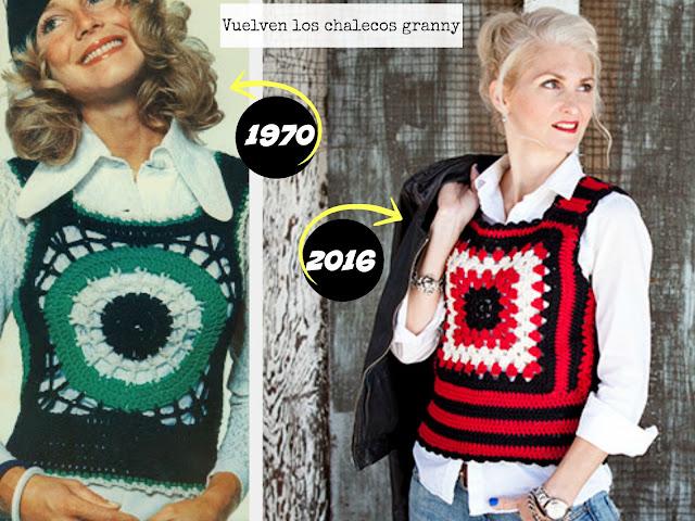 granny, tejer, crochet, chalecos