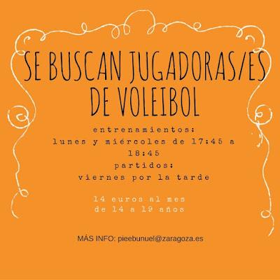 Voleibol cadete/juvenil