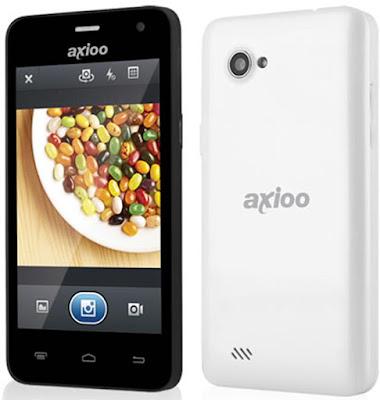 """Spesifikasi Axioo PICOPHONE 4 GDF           Ponsel Android 4.2.1 Jelly Bean itu, antara lain, layar sentuh 4,5 inci beresolusi 960 x 540 pixel dan radio FM yang sanggup merekam siaran. Beberapa permainan telah diinstalasikan dan langsung siap dimainkan. Pilih saja, lebih suka Candy Crush Saga, Dino Island, atau Subway Surf.     Biarpun berbodi plastik, penampakan GDX tergolong lumayan. Tak sampai terkesan ringkih. Namun, terus terang penulis terganggu dengan garis berwarna merah di sekeliling bodi plus lensa kamera. Warna merah yang terkesan kampungan itu membuat """"tingkat kegantengan"""" GDX turun satu tingkat.     Tampilan layar GDX tergolong nyaman dipandang mata. Layar sentuh itu juga responsif terhadap sentuhan jari. Ruang penyimpanan ponsel dibagi dalam dua partisi, internal storage dan phone storage. Saat ponsel kali pertama diaktifkan, sebanyak 0,7 GB di antara 0,98 GB internal storage berstatus kosong. Sedangkan kapasitas phone storage yang praktis belum terpakai mencapai 1,7 GB.  Kelebihan   Telah mendukung akses internet berkecepatan tinggi melalui jaringan GSM 3G HSDPA, tentunya fitur GPRS dan EDGE juga tetap disediakan untuk mereka yang areanya belum terkover 3G  Adanya dua buah slot kartu GSM, atau fitur dual gsm  Referensi   http://infohandphone.com/kelebihan-dan-kekurangan-axioo-picophone-4-gdf-android-satu-jutaan/"""