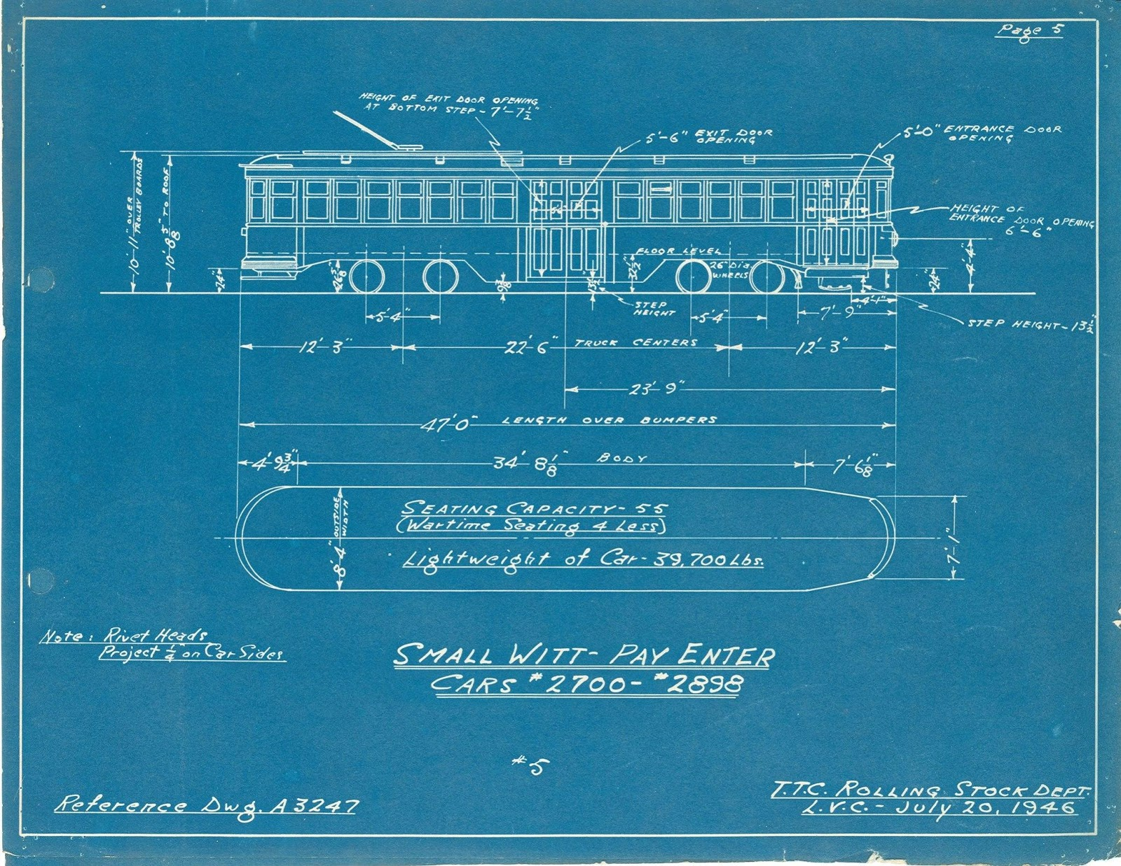 Just a car guy blueprints of cool old trains make for cool office art httptransitrontoonstreetcar4517tml malvernweather Image collections