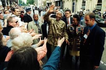 TODAY THE WORLD IS CELEBRATING NELSON MANDELA