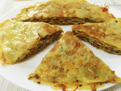 chattipathiri irachipathiri layered pancake snacks recipes spicy snack