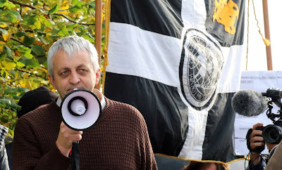 Dick Cole at the Tamar Rally in October 2016