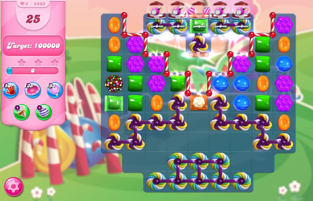 Candy Crush Saga level 5865