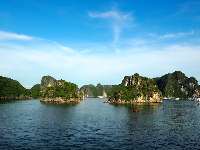 Halong Bay islands, Vietnam