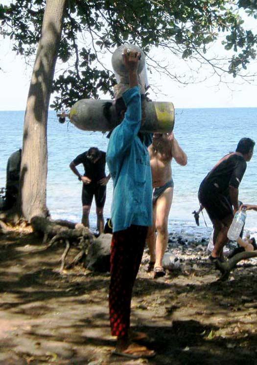 pantai tulamben karangasem