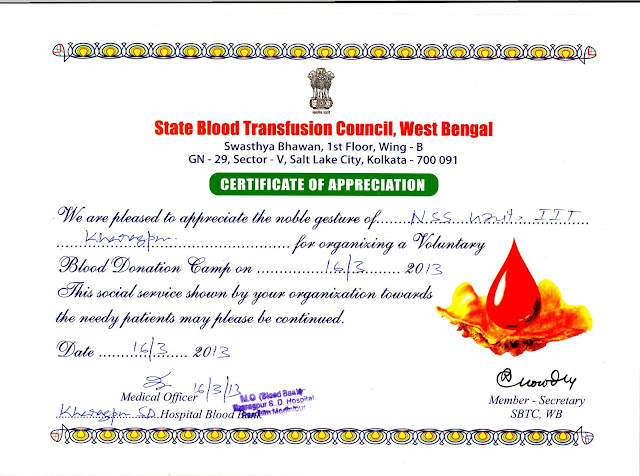Blood donation camp report some more pictures as sent by nss student volunteers yadclub Gallery