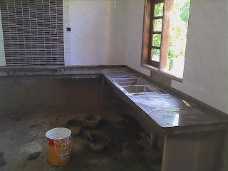 Kabinet Dapur Dan Memasang Tile Untuk Kiraan Awal Upah Ialah Rm70 00 K Dua Lapis Rm60 Satu