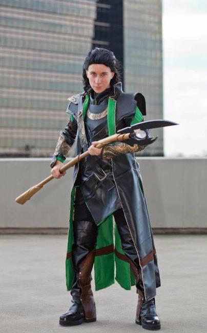 Empadinha Frita: Cosplay - The Avengers - Loki