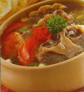 Gambar Resep Sup Buntut Pesisiran