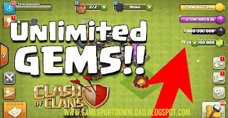 Download Clash of Clans MOD Apk [Unlimited Gems]