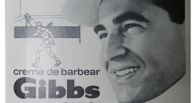 ... do Creme de barbear Gibbs