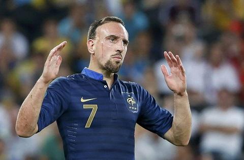 Tiền vệ Franck Ribery