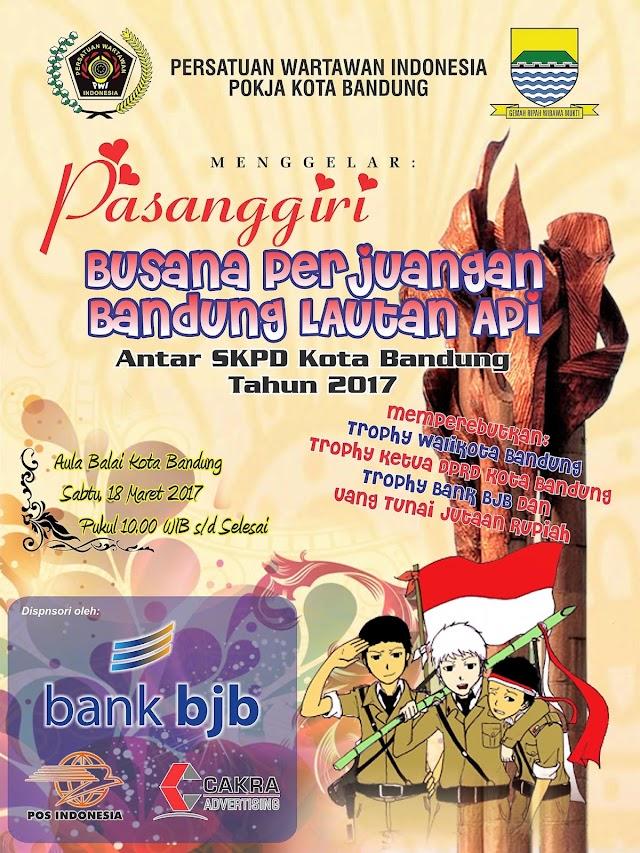 PWI Kota Bandung Gelar Pasanggiri Busana Perjuangan Antar SKPD