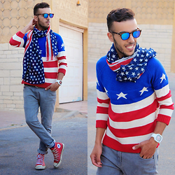 4th of July Clothes for Man 2017