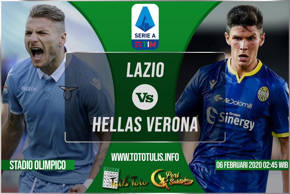 Prediksi Lazio vs Hellas Verona 06 Februari 2020