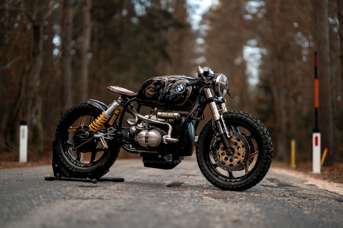 Bmw R100 28 Quot Black Stallion Quot Rocketgarage Cafe Racer