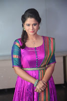 Shilpa Chakravarthy in Purple tight Ethnic Dress ~  Exclusive Celebrities Galleries 044.JPG