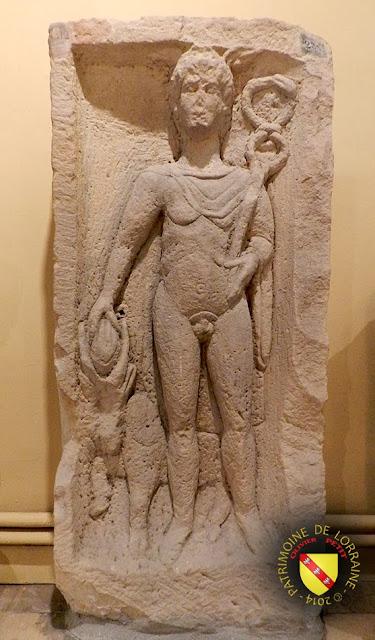 NANCY (54) - Musée lorrain : Dieu Mercure - Vesheim (57)