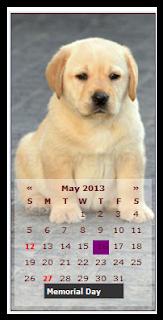 Cara Memasang Widget Kalender Keren Dan Cantik DI Blog