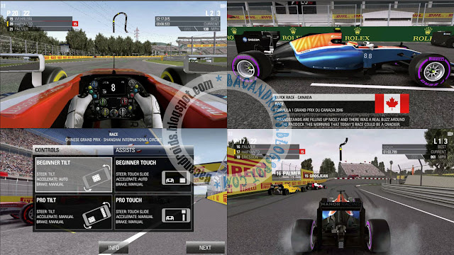 F1 2016 Apk + Obb Full Data v0.1.6 Latest Free Mod