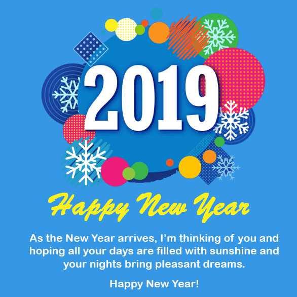 Happy New Year 2019 Images, Wishes, Messages & Quotes Download